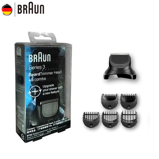 Braun Afeitadora eléctrica reemplazo para Series 3 eléctrica styling cabeza  BT32 jefes máquina de afeitar eléctrica 62de5eae887c