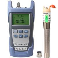 30mW Visual Fault Locator Fiber Optic Cable Tester and Optical Fiber Power Meter ( 70dBm~+10dBm) Fiber Optic Power