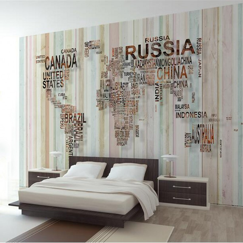 Photo wallpaper personality design nostalgic world map deer custom photo wallpaper personality design nostalgic world map deer custom mural bedroom decoration background 3d wallpaper in wallpapers from home improvement on gumiabroncs Choice Image