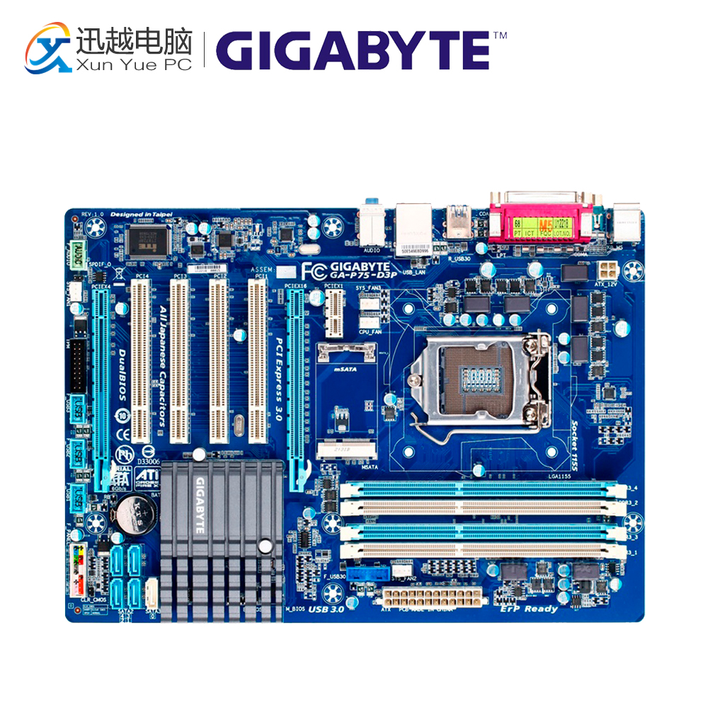 Gigabyte GA-P75-D3P Desktop Motherboard P75-D3P B75 LGA 1155 i3 i5 i7 DDR3 32G ATX new 765pcs sy327 super heroes assemble the avengers building bricks blocks set education toys for children minifigure page 6