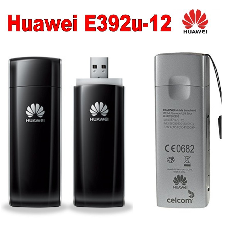 Lot de 100 pièces Débloqué Huawei E392 E392U-12 Modem 4G LTE bâton 3g dongle USB soutien FDD
