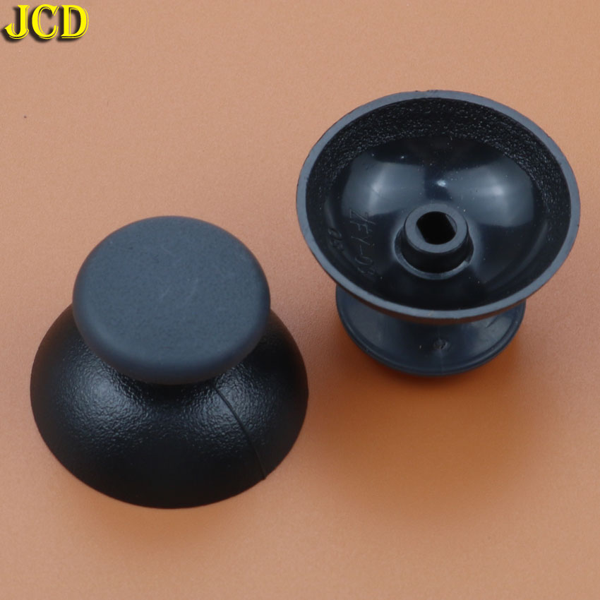 Image 3 - JCD 2pcs 3D Analog Joystick Cover Joystick Mushroom Cap For Sony Playstation 3 for PS3 Controller-in Replacement Parts & Accessories from Consumer Electronics