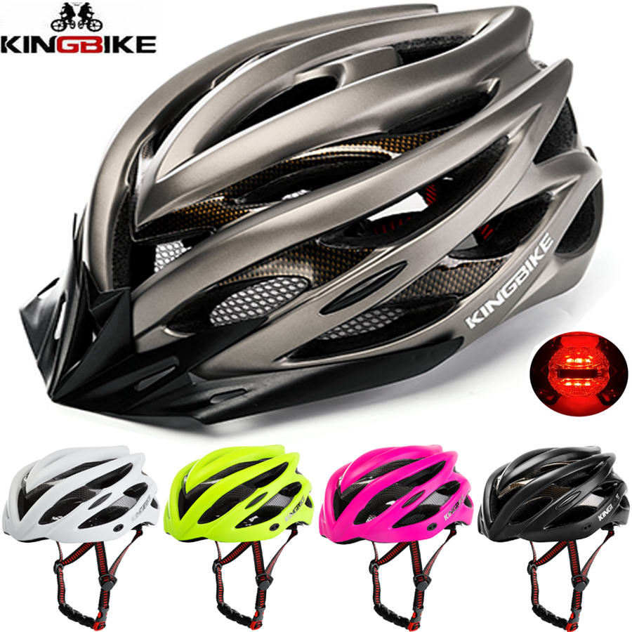 51acc946c56d1 KINGBIKE Capacete Da Bicicleta Homens Mulheres MTB Ciclismo de Estrada  Ultraleve Integralmente-moldado Capacetes EPS + PC capacete Da Bicicleta  Capacete ...