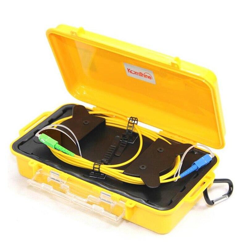 imágenes para UPC-MODO sc SC APC Monomodo 9/125um 1310/1550nm OTDR launch box cable de 1 KM, anillo de fibra otdr cable de lanzamiento, lanzamiento de cable De Fibra óptica