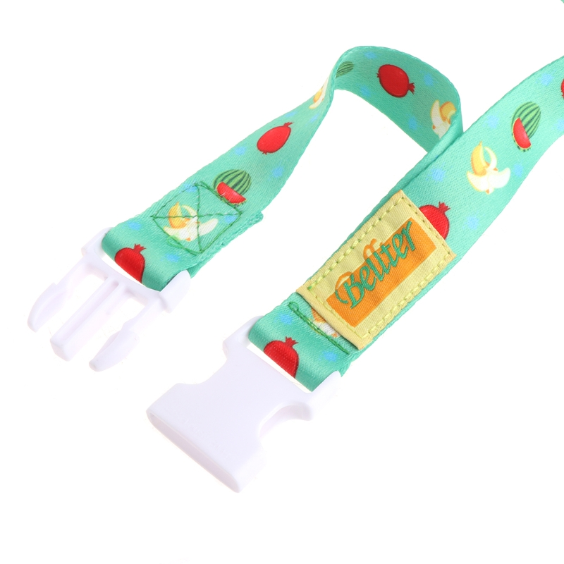 2pcs Cartoon Baby Pacifier Chain Clip Anti Lost Dummy Soother Nipple HolderU xh