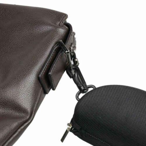 Portable Zipper Mata Kotak Kacamata Hitam Clam Shell Keras Kotak Kacamata Pelindung Tas Hitam Biru Abu-abu Merah