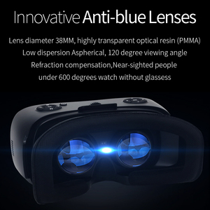 Image 3 - 5.5 3G RAM Android 2K HD Wifi HDMI Video Box Smart Glasses Virtual Reality All In One VR Headset 3D Glasses With VR Controller