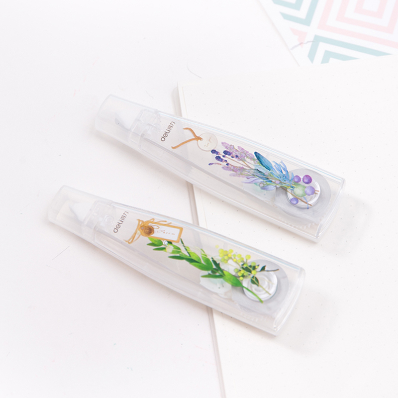 Deli Correction Tape Primary Modification Tape Simple And Fresh Student Supplies Correction Supplies Office And School Supplies