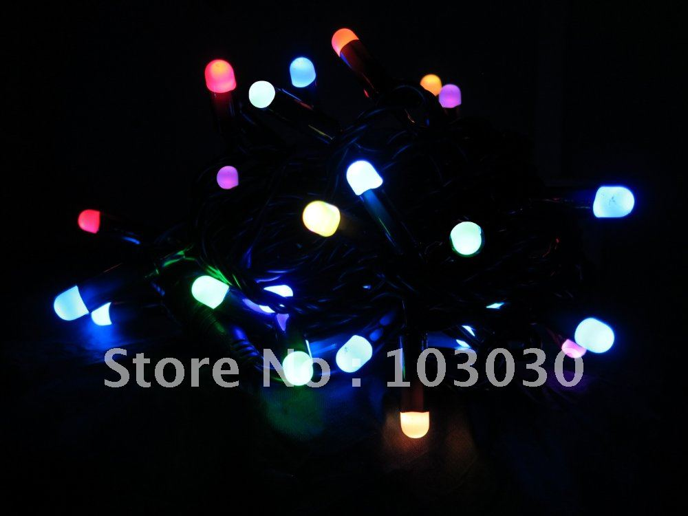 String Lights Europe : Aliexpress.com : Buy 220V European plug RGB LED Blister String/ LED string lights /Christmas ...