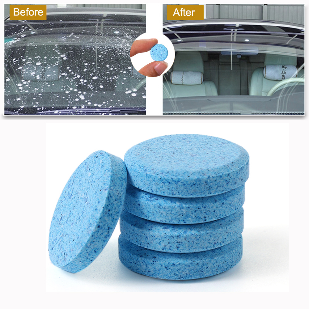 Glass-Cleaner Tablets Windshield-Cleaning Car-Solid-Wiper Auto 1PCS 4L Effervescent