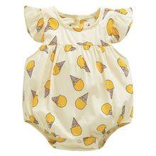 Summer New Baby Bodysuit Newborn Baby Boys Girl Clothes Jumpsuit