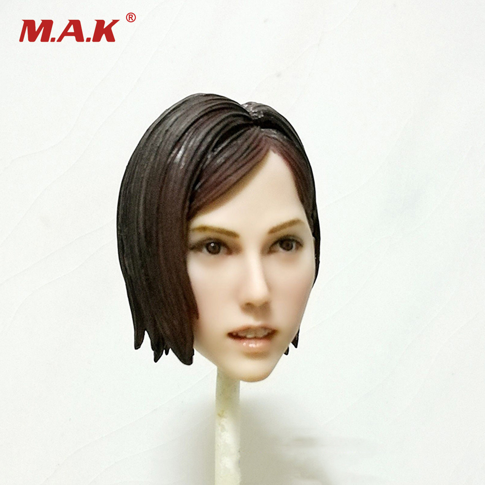 1:6 Scale Mai Shiranui Head Sculpt Model For 12 inches Female Action Figure 1 6 scale the game of death bruce lee head sculpt and kungfu clothes for 12 inches figures bodies