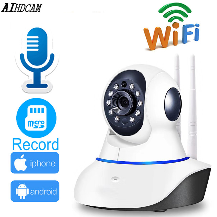 AIHDCAM Brand Home Surveillance CCTV Security Camera 2MP HD 1080P Wifi Camera Baby Monitor IR Night Vision IP Camera