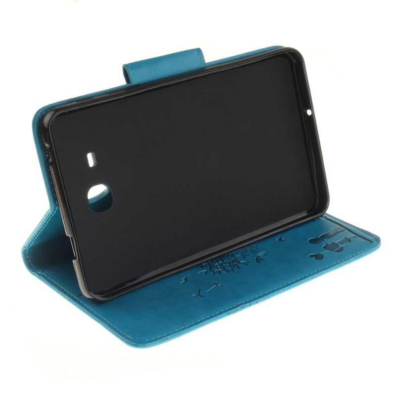 Чехол из искусственной кожи с рисунком одуванчика для любителей мультфильмов для Samsung Galaxy Tab A 7,0 T280 T285 7,0 дюйма с отделениями для карт + пленка + ручка