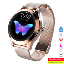 KW10 SmartWatch IP68 Waterproof Watches Heart Rate Monitor Sleep Monitor Woman Smart Watches Suitable for Android and iOS phones