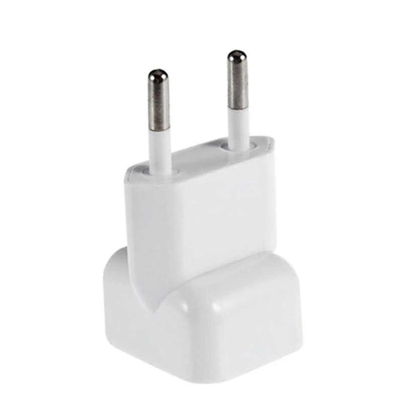1 pcs Tragbare UNS zu Eu-stecker Reise Ladegerät Konverter Adapter für Apple MacBook Pro / Air / iPad/ iPhone Power Adapter