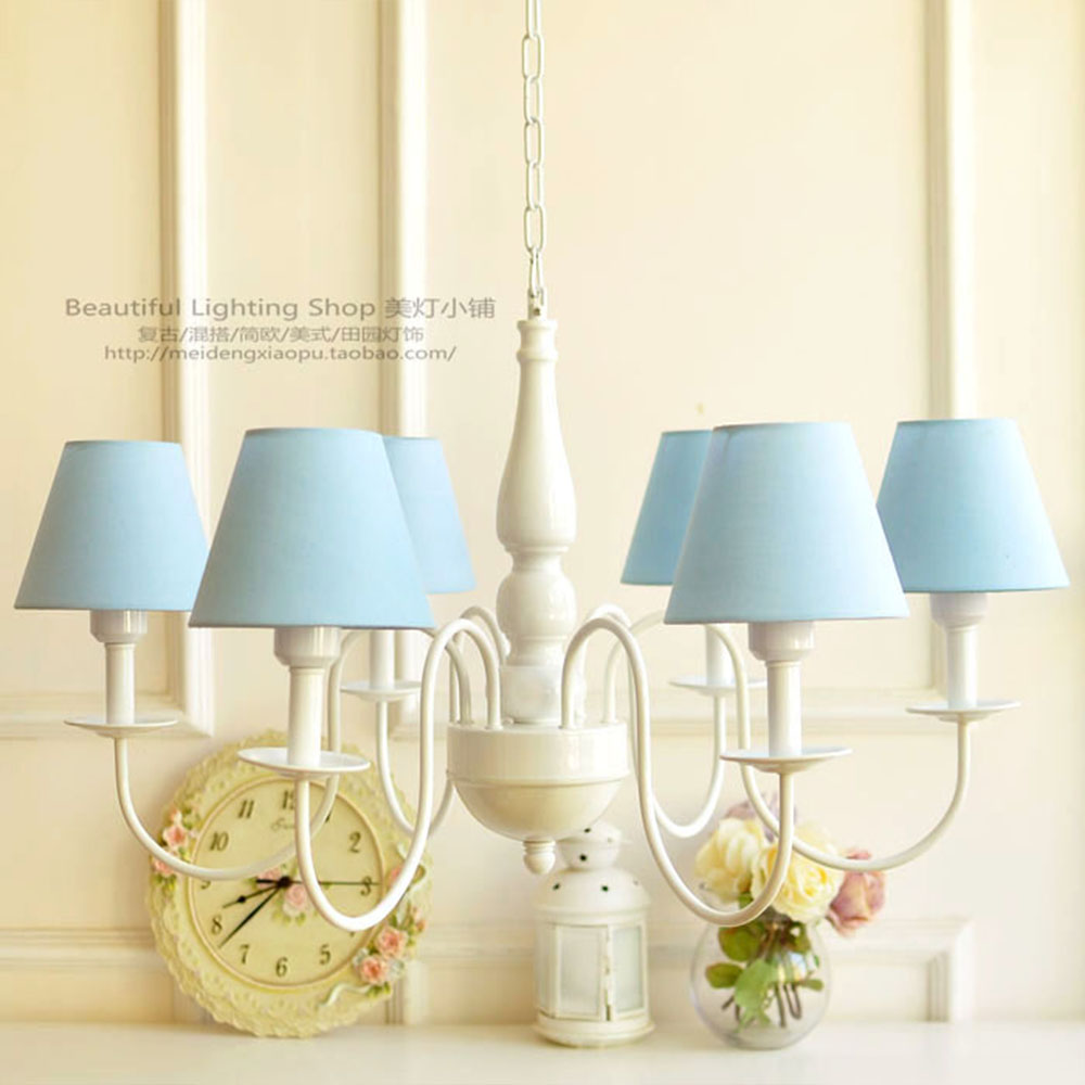 Suspension Chandelier Us 128 Farmhouse Style E27 Led Chandeliers For The Bedroom 110v 220v Resin Suspension Wrought Iron Chandelier Princess Room Lighting In