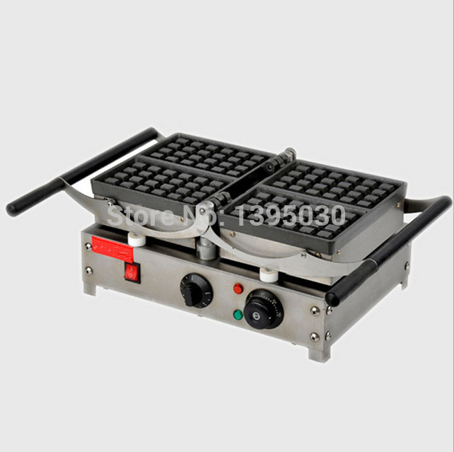 Popular Waffle Cookie Maker Cool Touch Exterior Cake Making Machine with Grilling Press Plates for Restaurant FY-2201