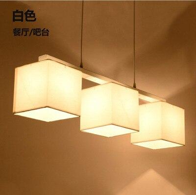 Nordic Modern Minimalist Fabic Lampshade Pendant Light For Bedroom Study Living Room Lamp