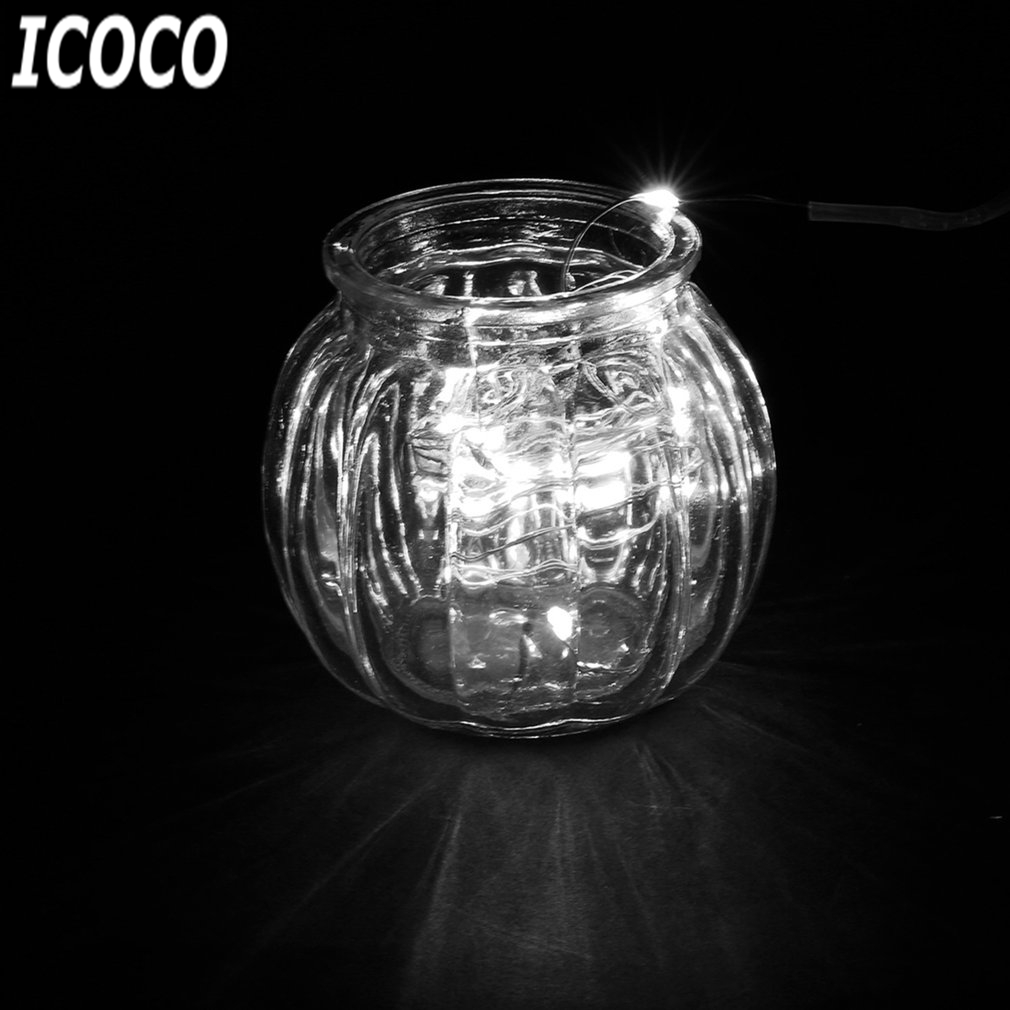 ICOCO 1M 10LEDs Copper Wire Diving String Light Waterproof Holiday ...