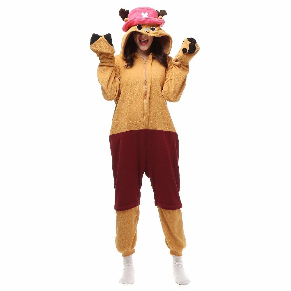 Noel Cadılar Bayramı Doğum Günü Hediyesi Sıcak Pijama Chopper Ev Giyimi Yetişkinler Için Hoodie Onesies Pijama Bornoz