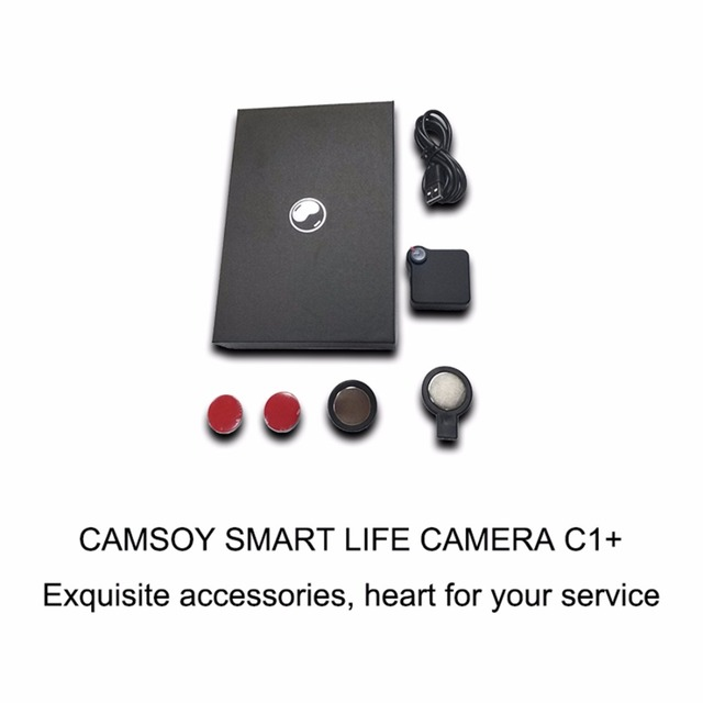 C1+ Mini Web Camera WIFI P2P IP DV Video Sound Recorder Portable HD 720P H.264 Micro DVR Action Motion Detection Flexible 3