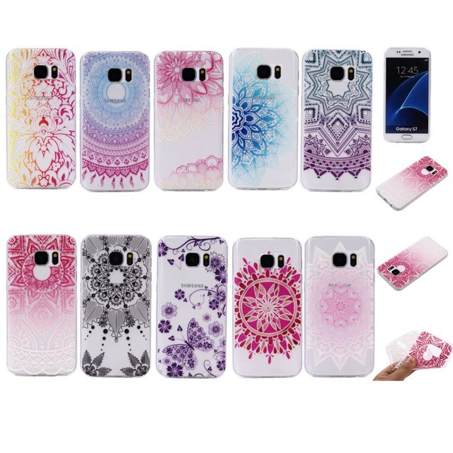 coque galaxy s7 edge mandala