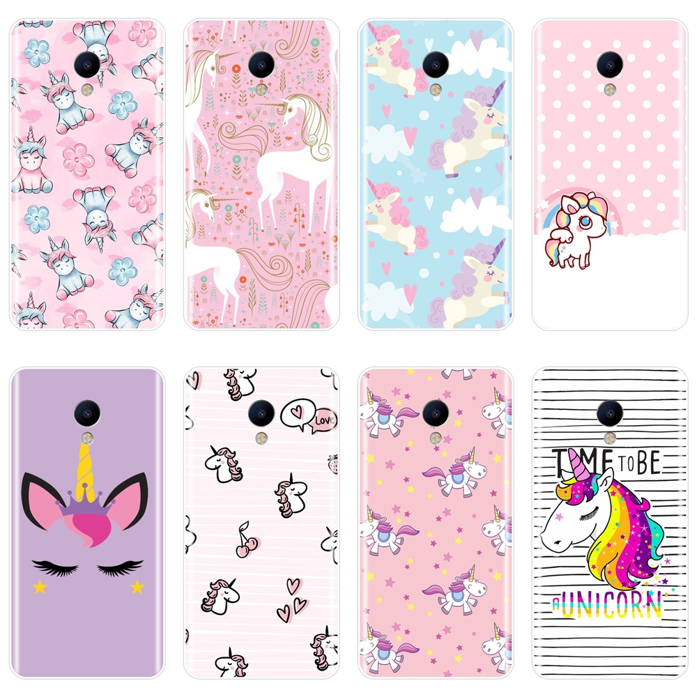 Case For <font><b>Meizu</b></font> M2 M3 <font><b>M3S</b></font> M5 M5C M5S M6 M6S M6T Cute Unicorn Girl Silicone Soft <font><b>Back</b></font> <font><b>Cover</b></font> For <font><b>Meizu</b></font> M6 M5 M3 M2 Note Phone Case image