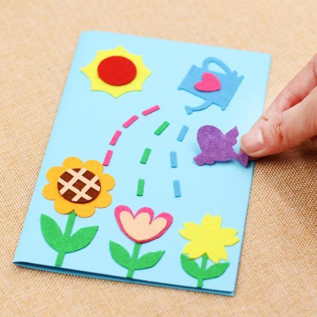 1 Set Diy Kartu Ucapan Tk Anak Mainan Pendidikan Hari Ibu Hari