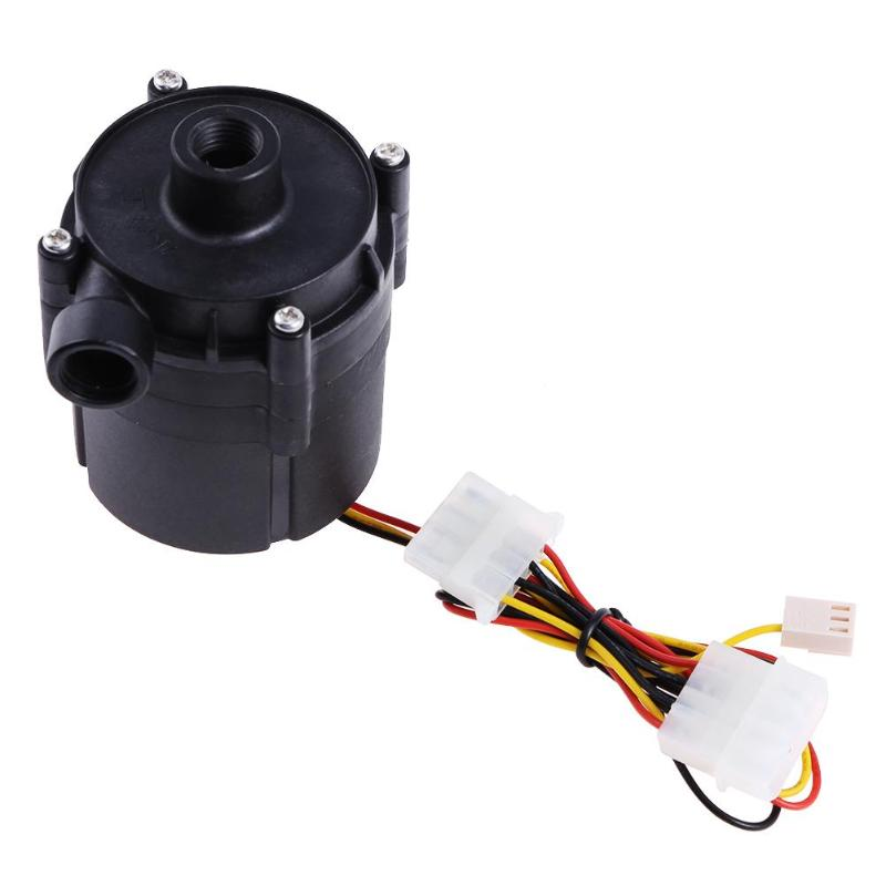 DC 12V 18W SC1000 DC Pump Water Cooling Pump Water Cooler Pump Maximum Flow 1000L/H with Speed Controller for Computer PC nagara средство для чистки туалета 5 шт