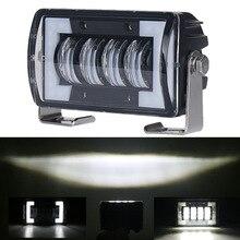 Krator 24 Вт DRL светодио дный работы для вождения фары противотуманные лампы прожекторы Offroad 4WD внедорожник 12 В 24 В для ATV внедорожник Грузовик Экскаватор дорожный каток