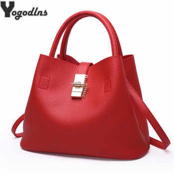 2019 Vintage Women's Handbags Famous Fashion Brand Candy Shoulder Bags Ladies Totes Simple Trapeze Women Messenger Bag - DISCOUNT ITEM  68% OFF All Category