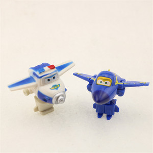 Image 5 - 8 adet/takım MINI Anime süper kanatları modeli Mini uçaklar oyuncak dönüşüm uçak Robot aksiyon figürleri superwings oyuncaklar çocuklar için