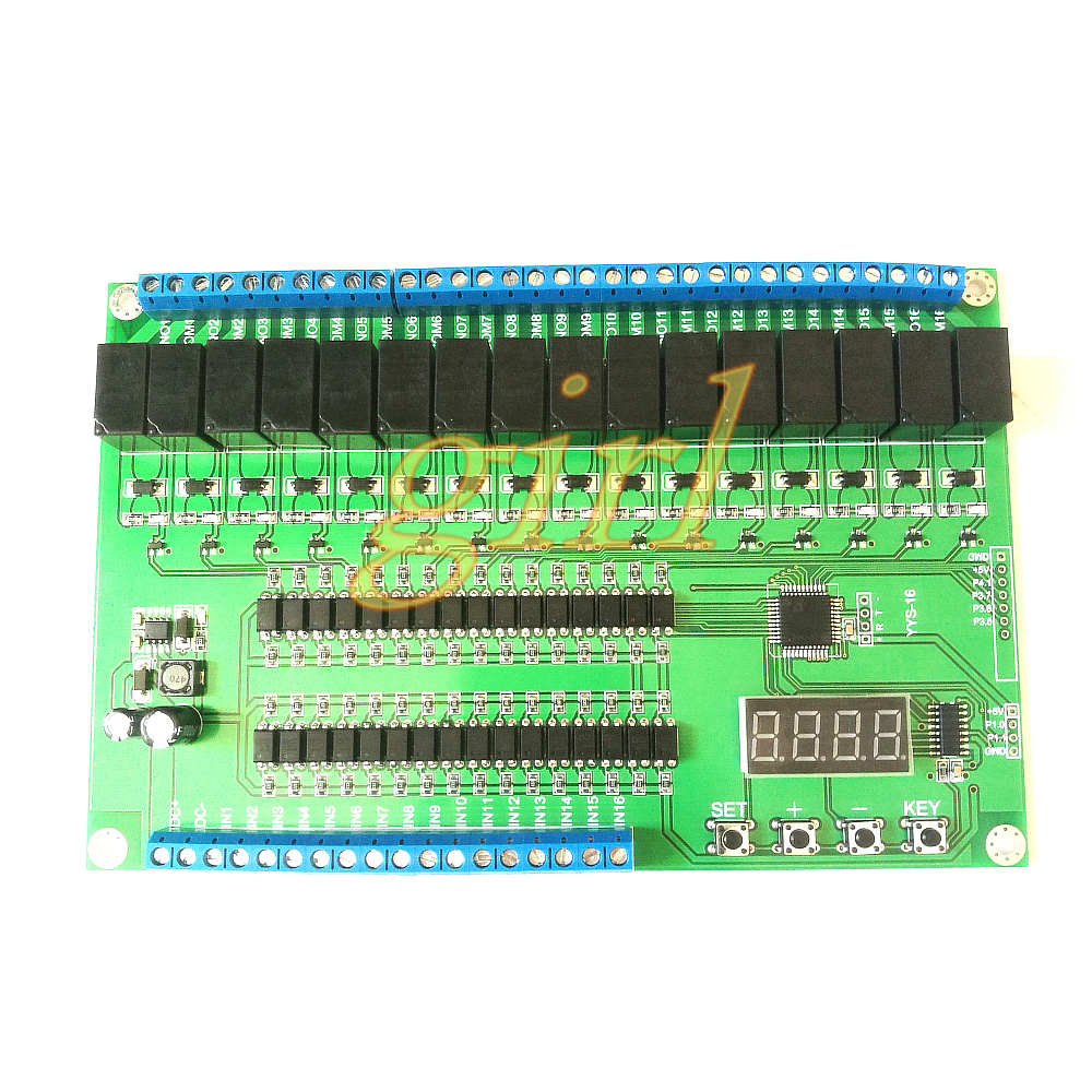 16 Way Relay Control Module / Board PLC Delay / Point / Self Lock / Interlock / Sequential Start Stop