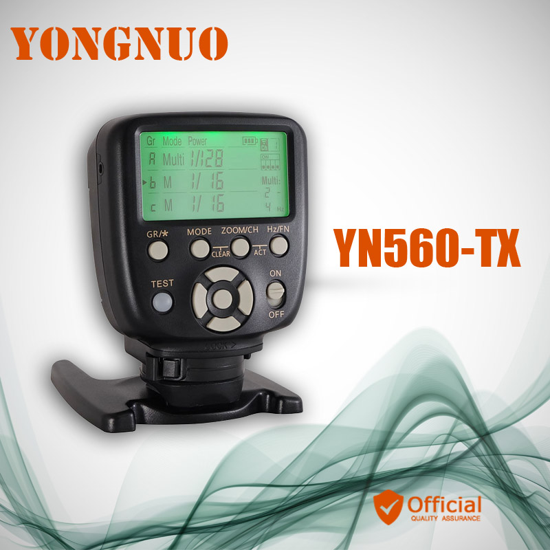 YONGNUO YN560-TX 2.4G Wireless Manual Flash Transmitter Trigger Remote Control for Canon Nikon YN-560 III YN560 IV RF-602 RF-603 yongnuo yn 560 iv yn560iv yn560 iv universal wireless flash speedlite yn560 tx trigger for canon 760d 750d 70d 60d 7d 5d dslr