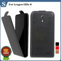 Factory price , Top quality new style flip PU leather case open up and down for Leagoo Elite 8, gift