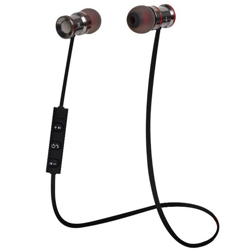 bilder für Hifi Kopfhörer Bluetooth 4,1 Kopf telefon für iPhone Samsung Headset Stereo Freisprecheinrichtung Metall Sport Drahtlose Kopfhörer auriculares