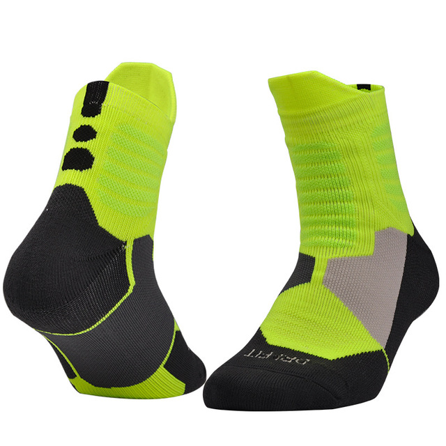 Men Thick Towel Bottom Sports Socks Calcetines Ciclismo Gym Cycling Jogging active wear EU 39-43 Autumn Winter Sock 3 Pairs/lot