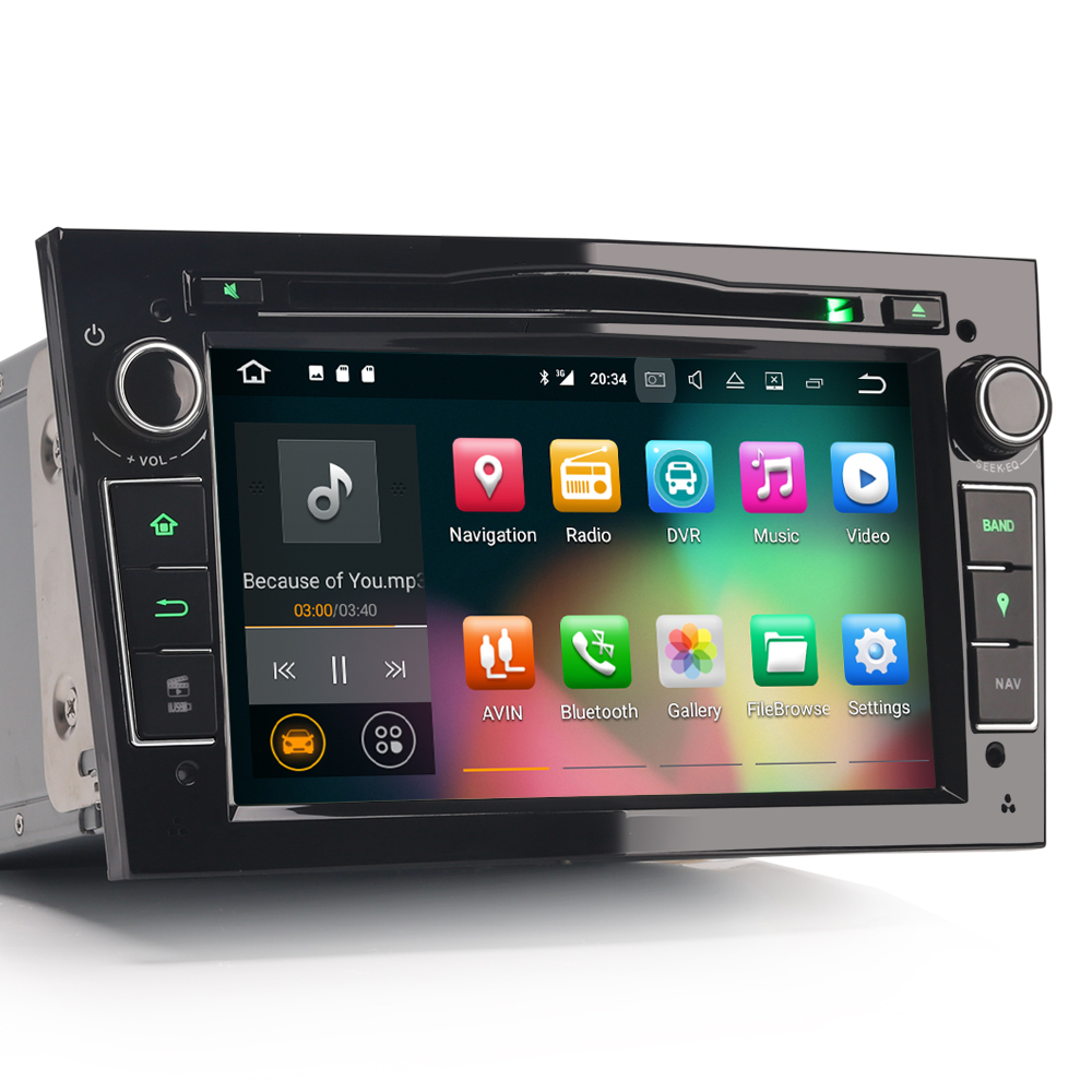 erisin es3760p 7 hd android 7 1 car dvd dab gps sat for. Black Bedroom Furniture Sets. Home Design Ideas