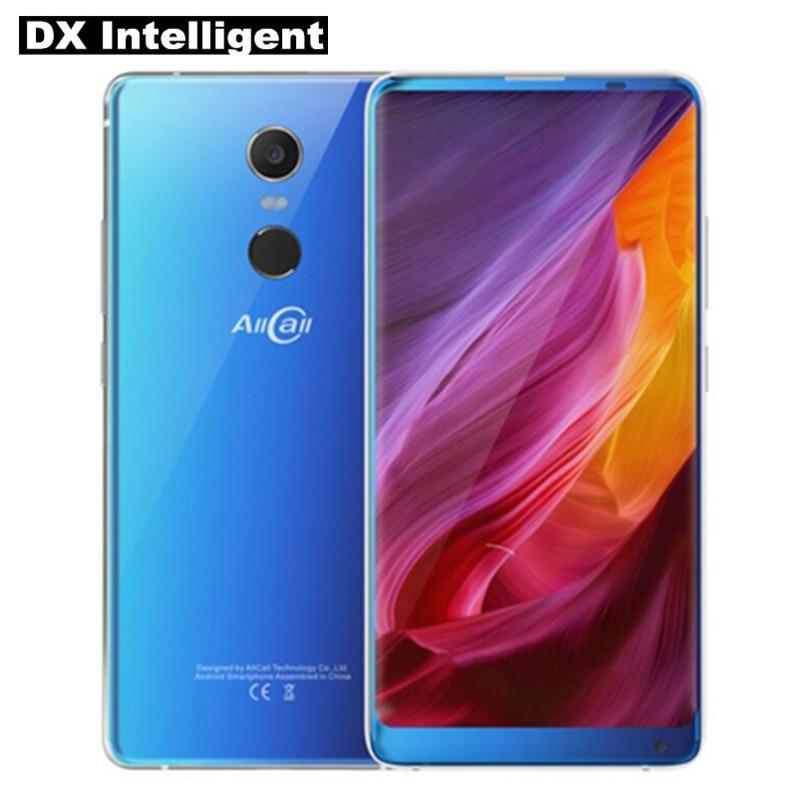 Original Allcall Mix 2 5.99 FHD 18:9 Face Unlock Mobile Phone MTK6763 Octa Core 6GB+64GB Wireless charger OTG 16MP Fingerprint
