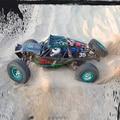 K949 wltoys Rc 4wd 1/10 Escala Eléctrico del eje Trasero de escalada en Roca coche camión Desierto China hizo Twin Martillos Vaterra Ready To Run