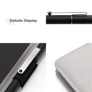Image 5 - Chaud pour Xiaomi Mijia Smart Home Kaco Noble papier cahier PU cuir carte fente portefeuille livre pour bureau voyage daffaires avec cadeau