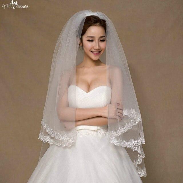 5de879147 LZP052 1 metro tulle nupcial velo de novia velo nupcial de dos capas flores