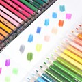 120 шт./лот  креативные Карандаши 120 цветов  масляные цветные карандаши для рисования  школьные канцелярские принадлежности для студентов