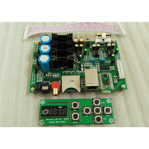 Image 5 - Bluetooth 4.2 digital player with ES9018K2M decoding Fiber coaxial output support SD USB with LED