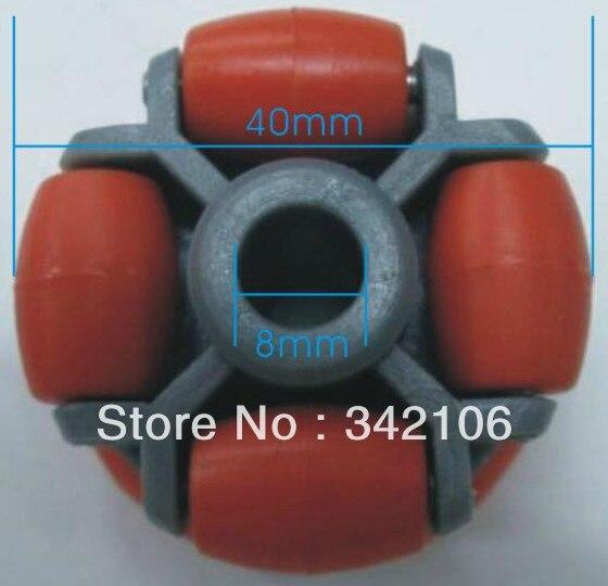 Free Shipping!!!  OW004 omnidirectional wheel 40_30_02, mechanical vehicles, robots tires, Wheels module sensor