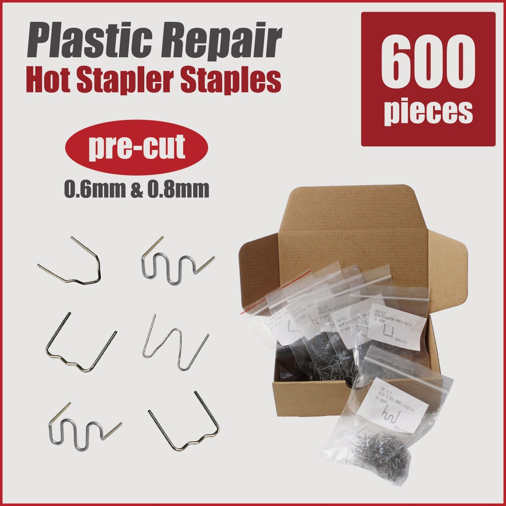plastic welder welding wire car bumper repair kit hot stapler ...