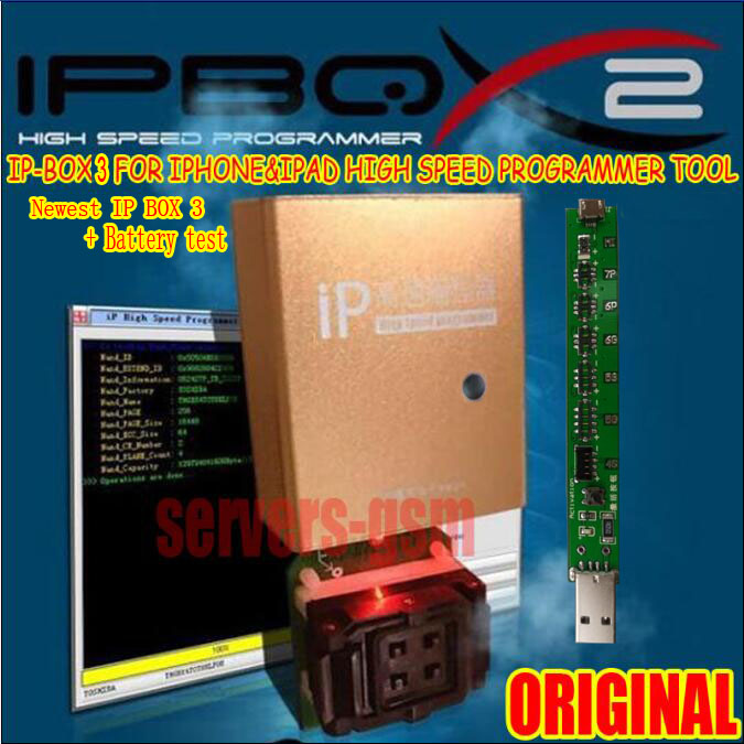 Originale Più Nuovo caldo Ip ad alta velocità programmatore box box IP 3 per per Iphone e Ipad