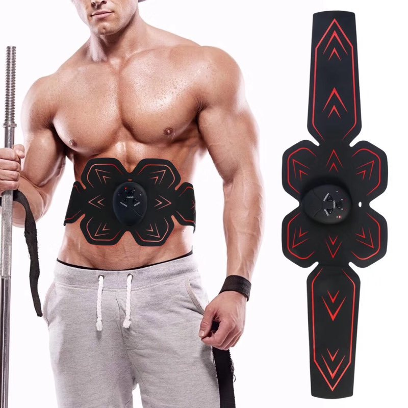 Массажер мышц живота, устройство для тренировок в форме тела, АБС-пластик, шесть подушек, для массажа