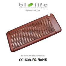 Wellness Nano Ceramic Heating Infrared Thermal therapy Health Korea Tourmaline Stone Accupressure Mattress